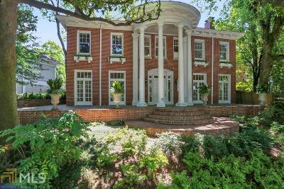 Ansley Park Single Family Home For Sale: 175 Peachtree Cir