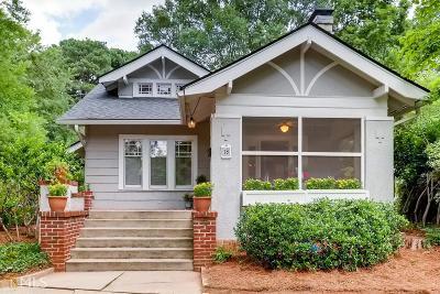 Avondale Estates Single Family Home For Sale: 18 Kensington Rd