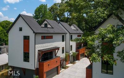 Atlanta Condo/Townhouse New: 1331 Iverson St #A