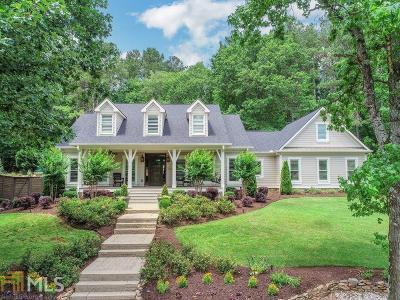 Alpharetta, Milton, Roswell Single Family Home For Sale: 15535 Wood Rd