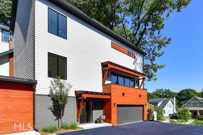 Atlanta Condo/Townhouse New: 1327 Iverson St #A