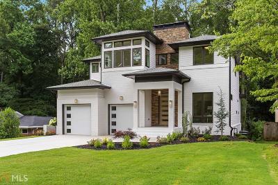 Atlanta Single Family Home New: 1237 Citadel Dr