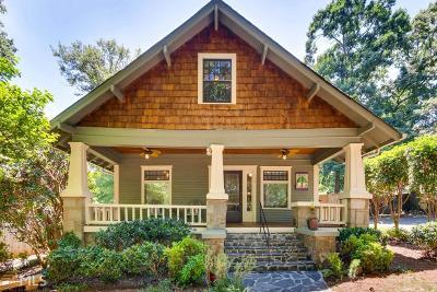 Decatur Single Family Home For Sale: 117 Jefferson Pl