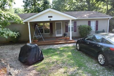Butts County, Newton County, Jasper County Single Family Home For Sale: 1227 Long Piney Rd