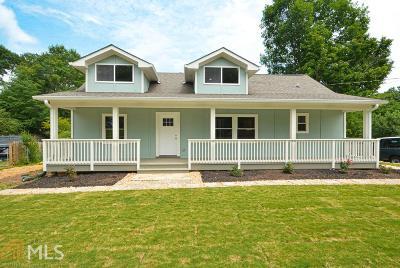 Tucker Single Family Home For Sale: 4852 Chamblee Tucker Rd