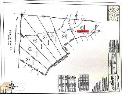 Hartwell Residential Lots & Land For Sale: Sunnybrook Ln #1