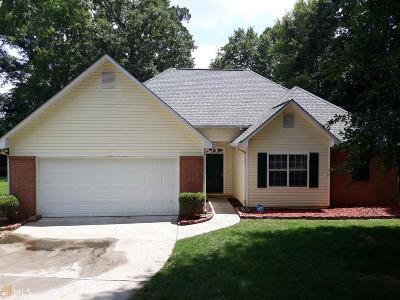 McDonough GA Single Family Home Under Contract: $182,500