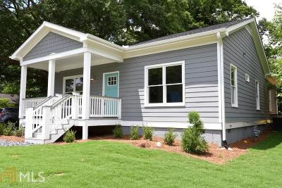 Atlanta Single Family Home New: 1545 SW Beecher St