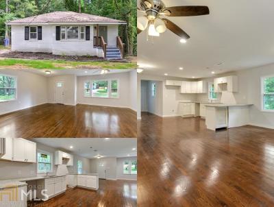 Atlanta Single Family Home New: 257 Hemphill School Rd