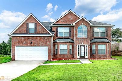 Conyers Single Family Home New: 1241 Tree Leaf Ln