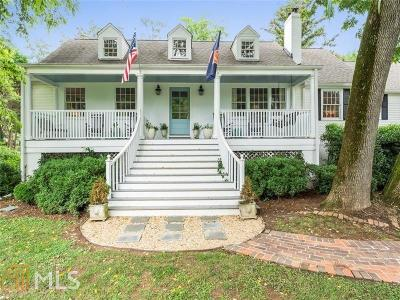 Atlanta Single Family Home New: 435 Woodward Way