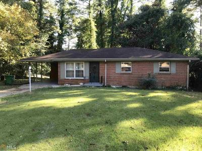 Decatur Single Family Home New: 1678 Lee St