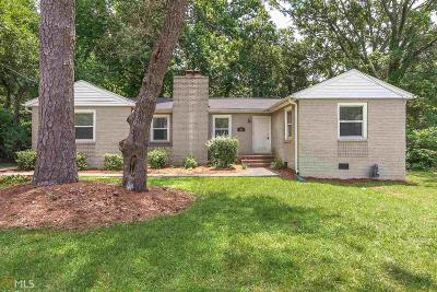 Atlanta Single Family Home New: 486 Ashburnton Avenue