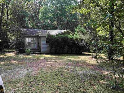 Martin Single Family Home For Sale: 1310 Seven Forks Rd
