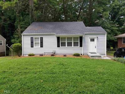 Hapeville Single Family Home For Sale: 3195 Hope