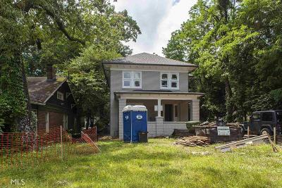 Decatur Single Family Home New: 433 S Candler St