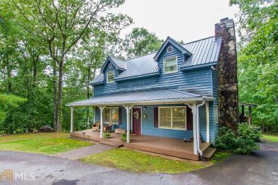 Dahlonega Single Family Home For Sale: 297 Pecks Mill Creek Rd