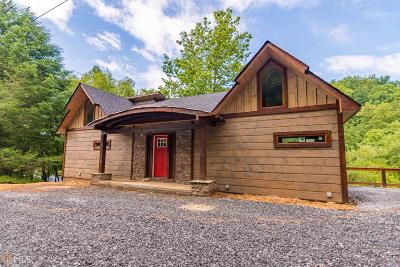 Fannin County Single Family Home For Sale: Toccoa River #Lot 74