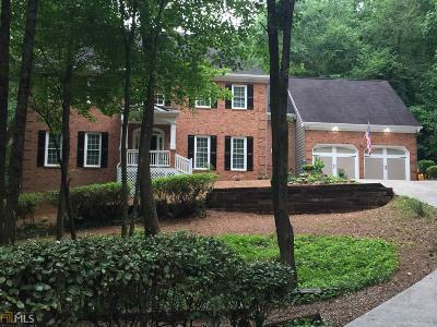 Marietta Single Family Home For Sale: 3548 Jefferson Township Pkwy