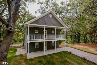 Atlanta Single Family Home New: 3038 Panther Trail