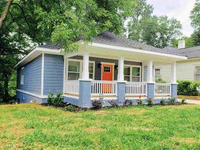 Atlanta Single Family Home New: 136 Adair Ave