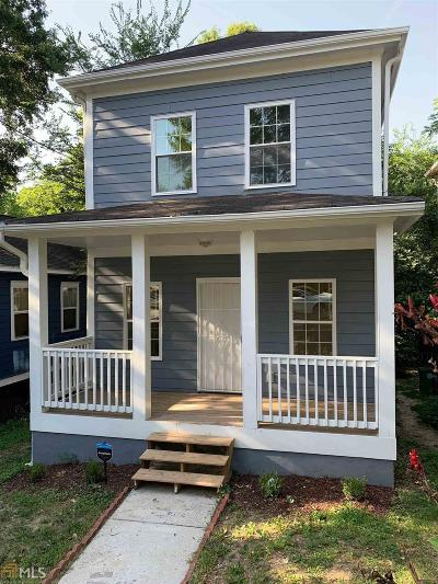 Atlanta Single Family Home New: 834 Fox