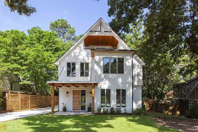 Decatur Single Family Home For Sale: 1119 S Candler St