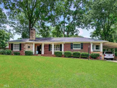 Griffin Single Family Home Under Contract: 68 Terracedale Ct