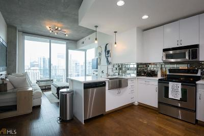 Spire Condo/Townhouse Under Contract: 860 Peachtree St #1715