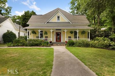 Norcross Single Family Home Under Contract: 71 Thrasher St