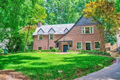 Druid Hills Single Family Home For Sale: 941 Clifton Rd