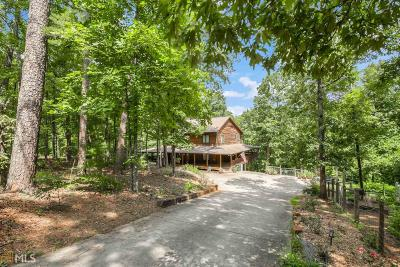 Dahlonega Single Family Home For Sale: 516 Lakeview Dr