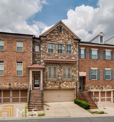 Brookhaven Condo/Townhouse For Sale: 3628 Brookleigh Ln