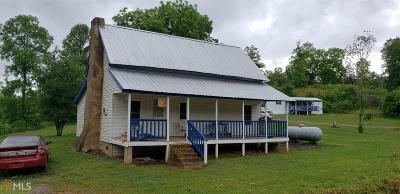 Blairsville Single Family Home For Sale: 2757 Tate Rd