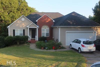 Dacula Single Family Home For Sale: 1611 Alcovy Ridge Ct #2BA