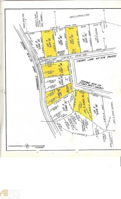 Hartwell Residential Lots & Land For Sale: Cherry Ln