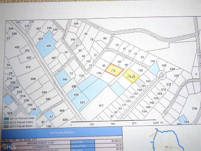 Hartwell Residential Lots & Land For Sale: Lynhart Dr