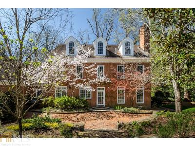 Druid Hills Single Family Home For Sale: 1354 The By Way