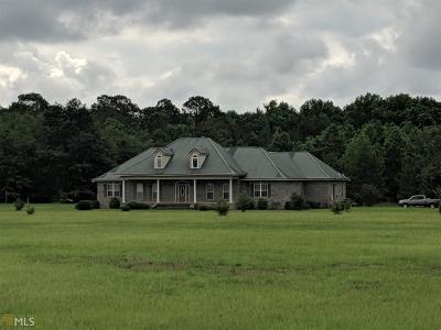 Statesboro Single Family Home New: 1157 George Moore Rd