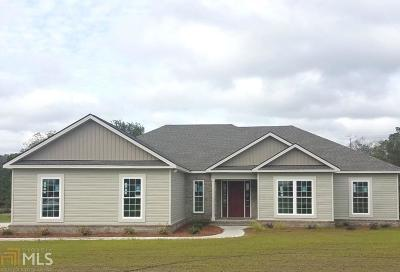 Statesboro Single Family Home For Sale: 102 Raleigh Ct #1