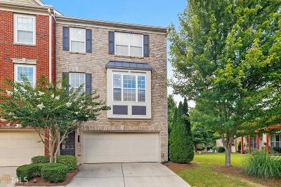 Norcross Condo/Townhouse For Sale: 3222 Greenwood Oak Dr