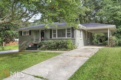 Smyrna Single Family Home For Sale: 1061 Pinedale Dr