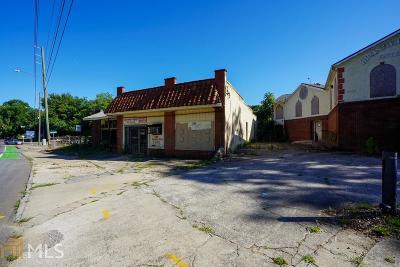 Atlanta Commercial For Sale: 1767 Ralph David Abernathy Blvd
