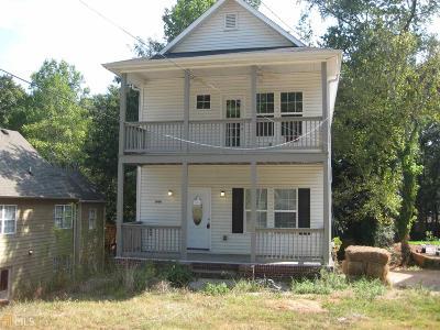 Ormewood Park Single Family Home For Sale: 846 SE Moreland Ave