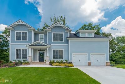 Smyrna Single Family Home For Sale: 3937 Obryant Cir #Lot 18