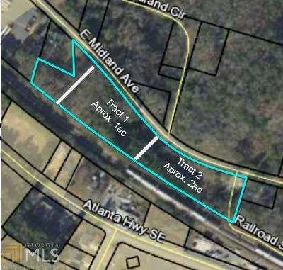 Winder Residential Lots & Land For Sale: 301 E Midland Ave