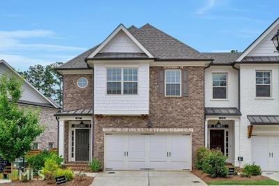 Roswell Condo/Townhouse For Sale: 1017 Towneship Way