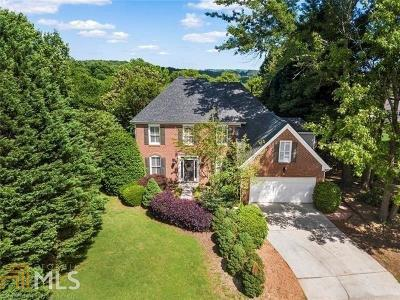 Suwanee Single Family Home For Sale: 5600 The Twelfth Fairway