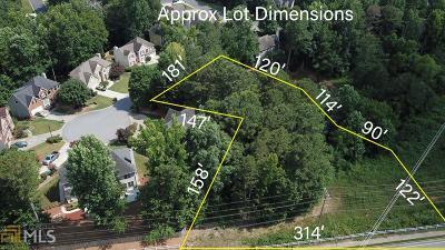 Gwinnett County Residential Lots & Land New: 1130 Tab Roberts Rd