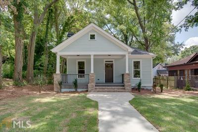 Single Family Home For Sale: 1076 Lucile Ave